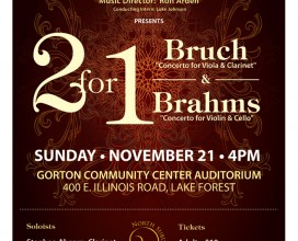 Bruch and Brahms