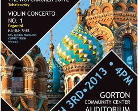 North Suburban Symphony Russian Treasures Concert Poster
