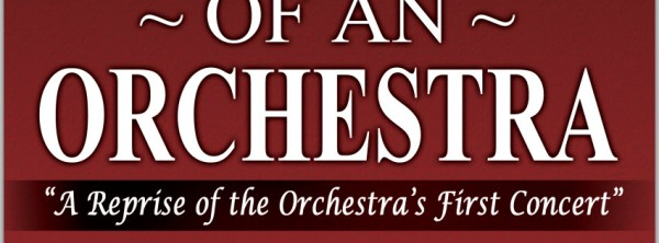 North Suburban Symphony Birth of an Orchestra Concet Poster